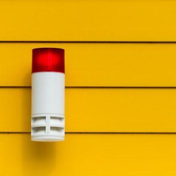 cómo funciona una alarma contra incendios